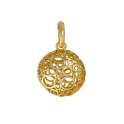 ANHÄNGER BUBBLES CHARM GOLD