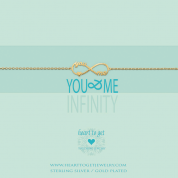 ARMBAND MIT ANHÄNGER, YOU & ME INFINITY