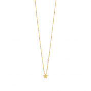 KETTE STAR & PEARL, GOLD
