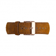 UHRENARMBAND CAMPUS ROSÉ, BROWN VINTAGE LEATHER