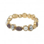 ARMBAND MOTHER OF PEARL, GOLD