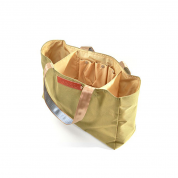 STRANDTASCHE LOVE-BAG, OLIVE