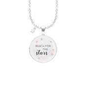 KETTE REACH FOR THE STARS, SILBER