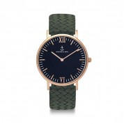 UHR CAMPINA BLACK ROSÉ, PINE GREEN WOVEN