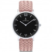 UHR CAMPUS BLACK SILVER, ROSE WOVEN