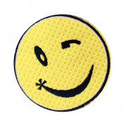 IRON ON PATCH SMILING FACE – LIMITED EDITION