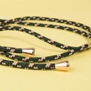 HANDYHÜLLE GREEN CAMOUFLAGE NECKLACE, X / XS