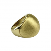 BY Q EXCLUSIVE RING, SILKY DAWN GOLD