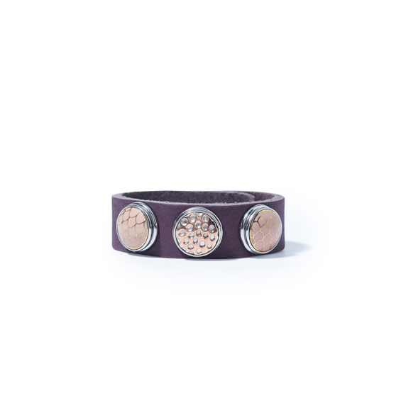 ARMBAND CLASSIC, AUBERGINE (PINK SHADOW)