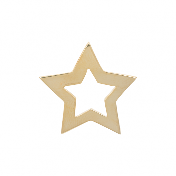 BROSCHE STAR, GOLD