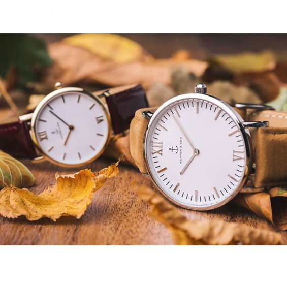 UHR CAMPUS ROSÉ BLACK, COGNAC SUEDE LEATHER