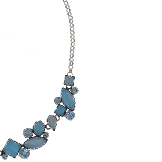 KETTE JELLY STAR BLUE LIGHT, ANTIQUE SILVER