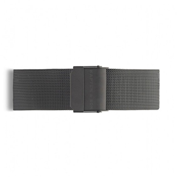 UHRENARMBAND PURE MESH BLACK